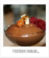 Mörk chokladmousse Gi style